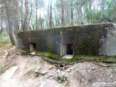 Frente Agua-Yacimiento Arqueológico Guerra Civil Española; club de montañismo madrid material de moc